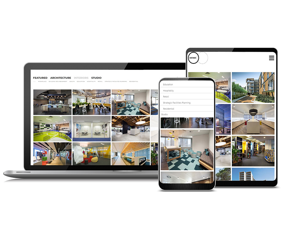 custance website INTERIORS WITH ROLLOVER